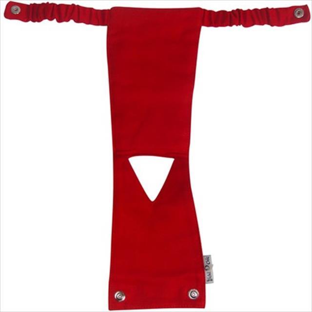 calcinha higiênica - vermelho - tam m