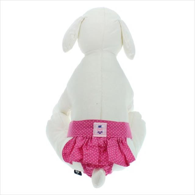calcinha higiênica com saia - rosa calcinha higiênica com saia rosa - tam gg