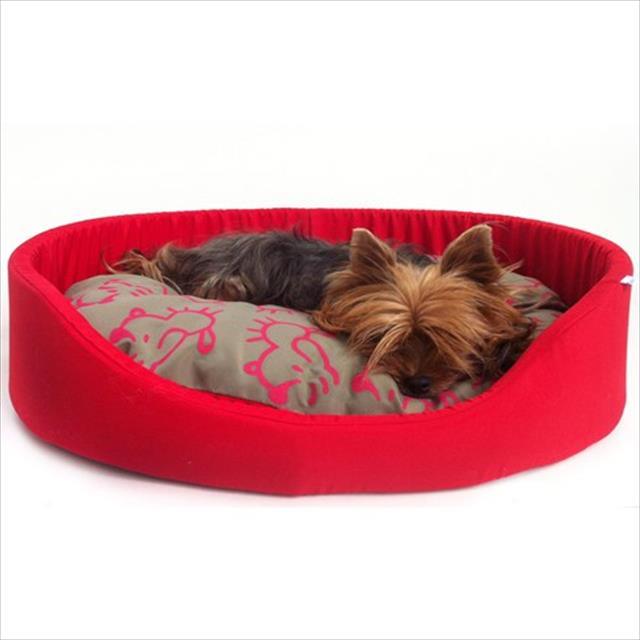 cama flex - vermelho cama flex vermelho - tam p