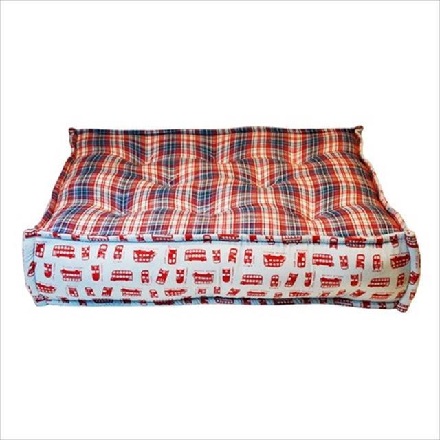 cama futon dog quadrada bus