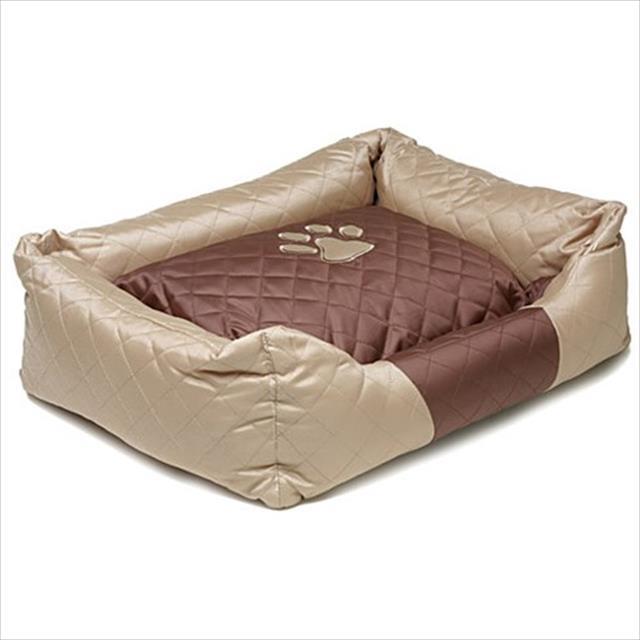 cama luxo - bege cama luxo bege - tamanho m