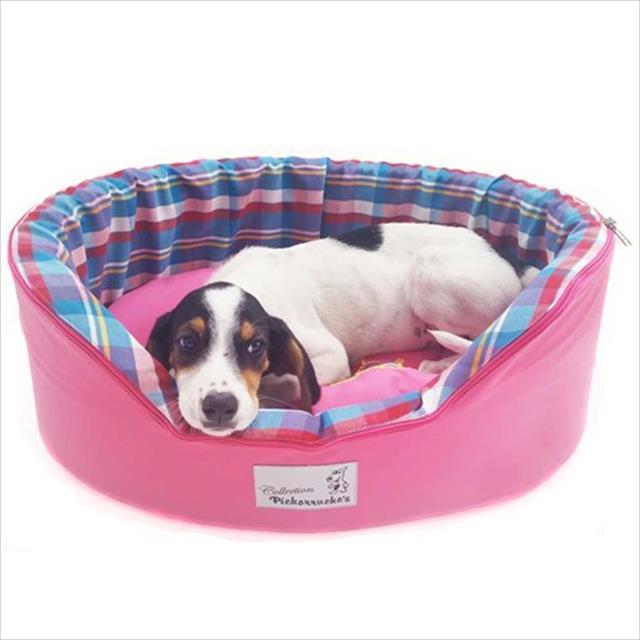 cama pickorruchos sleepy - pink cama pickorruchos sleepy pink - tam g