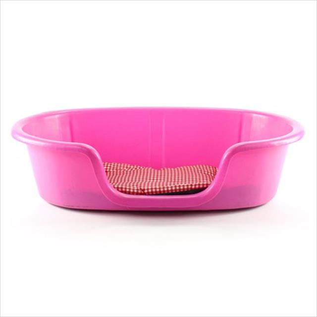 cama plástica clicknew com colchão - rosa cama plástica clicknew com colchão rosa - n. 02