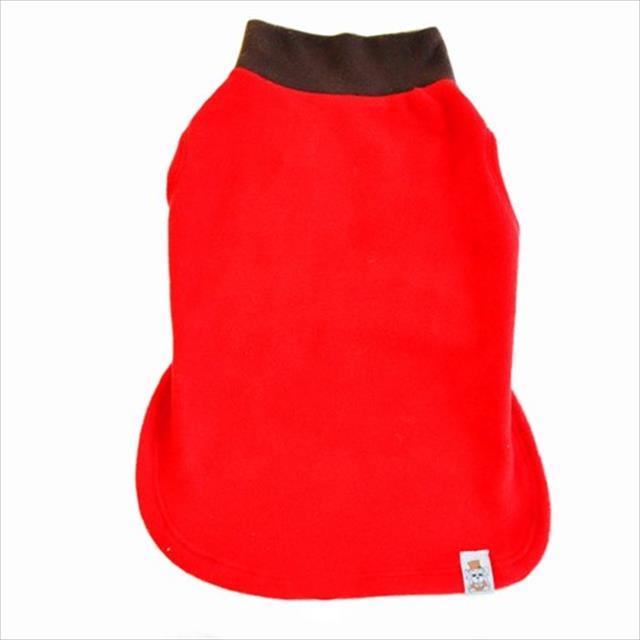 camiseta bichinho chic básica vermelho - tam. 12