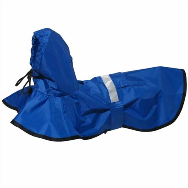 capa de chuva azul - futon dog capa de chuva azul - tam g