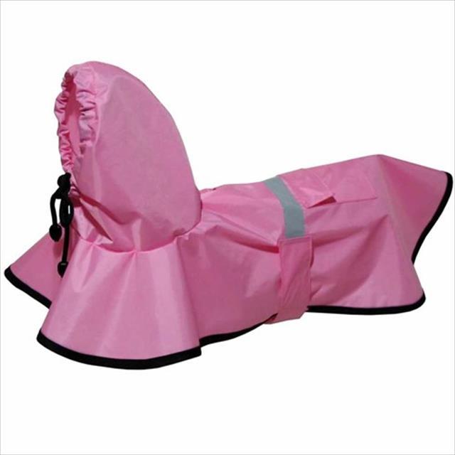 capa de chuva rosa - futon dog capa de chuva rosa - tam m
