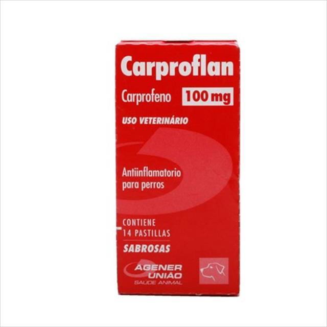 carproflan 100mg - 14 comprimidos