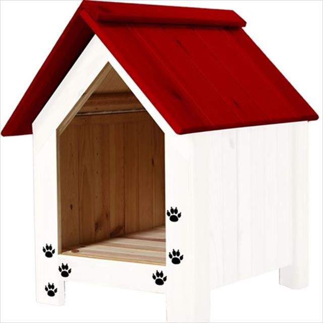 casa nobre chalé - branco com vermelho casa nobre chalé branco com vermelho - tam gg
