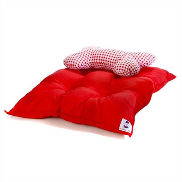 colchão conforto - vermelho colchão conforto tam m - vermelho