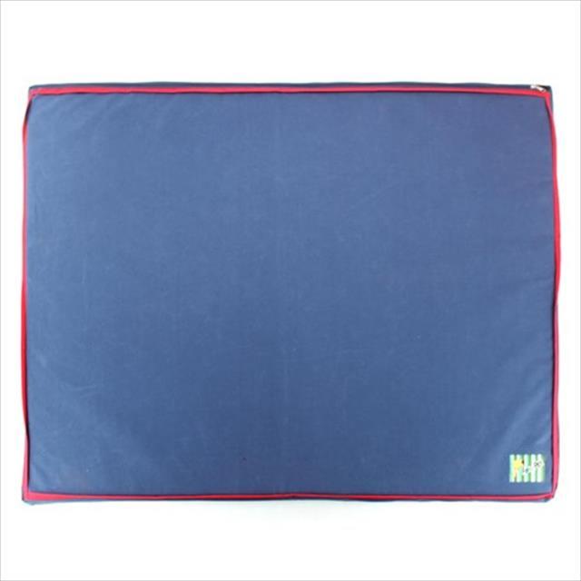 colchão impermeável - azul colchão impermeável azul - tam m
