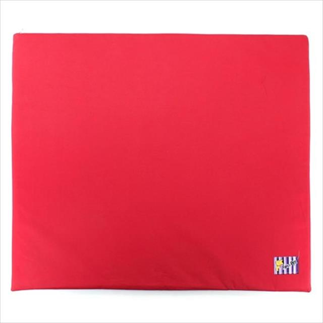colchonete impermeável - vermelho colchonete impermeável vermelho - tam m
