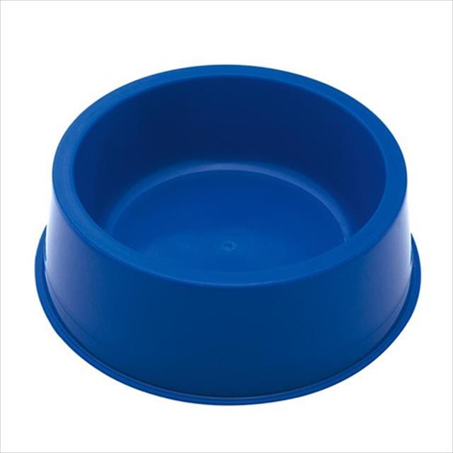 comedouro baw waw de plástico - azul comedouro baw waw de plástico azul - tam g