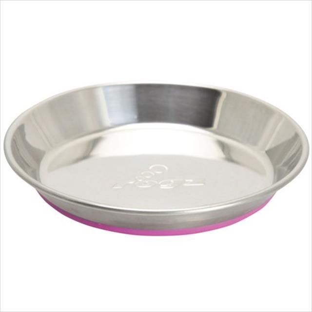 comedouro para gatos rogz cat anchovy 200 ml - rosa