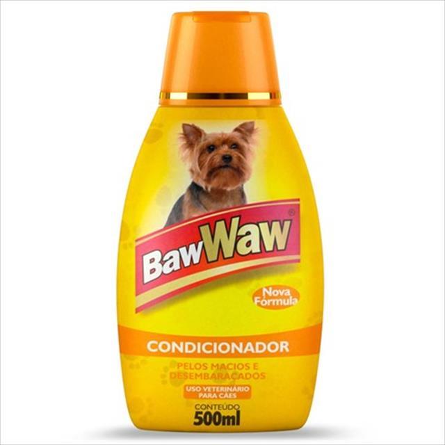 condicionador baw waw para cães - 500 ml