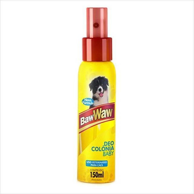 deo colônia baw waw para cães baby - 150 ml