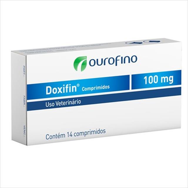 doxifin 100mg - 14 comprimidos