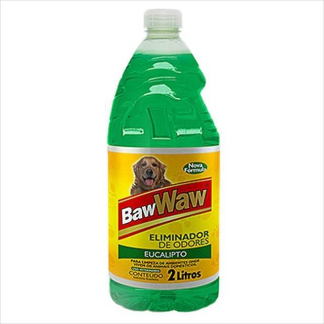 eliminador de odores baw waw eucalipto - 2 litros
