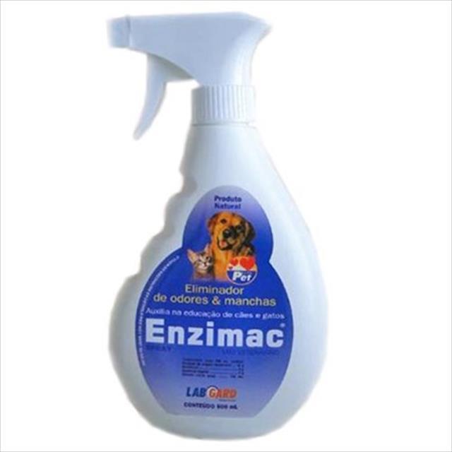 eliminador de odores enzimac - 500ml