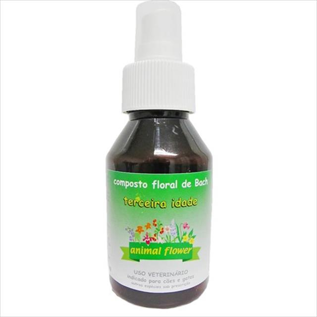 floral animal flower spray terceira idade - 100 ml