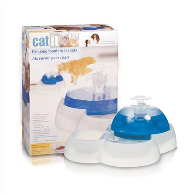 fonte bebedouro cat it fresh & clear 110v 3 litros - grande