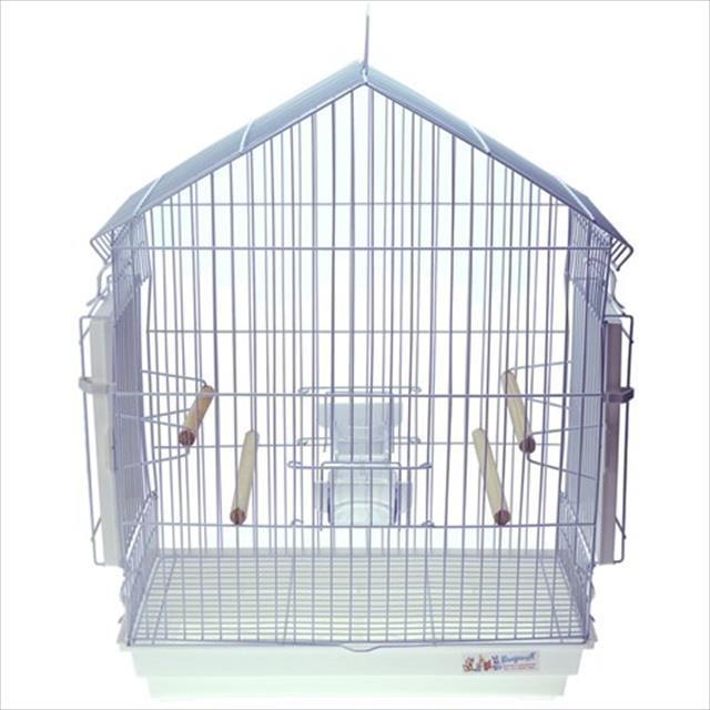 gaiola para calopsita mansa - branco
