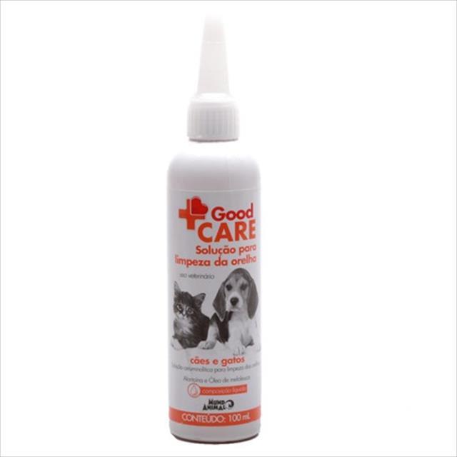 good care solução para limpeza de orelha - 100ml