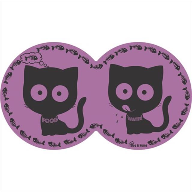 jogo americano eva gato - lilás
