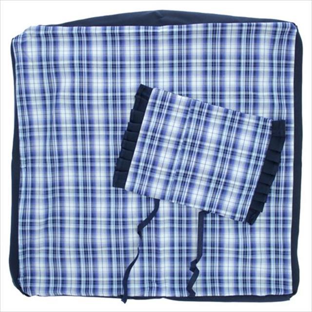 lençol para cama aconchego - azul lençol para cama aconchego azul - tam m