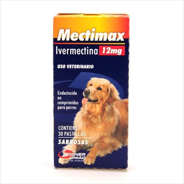 mectimax 12mg - 30 comprimidos