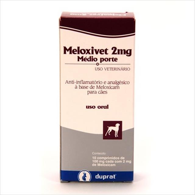 meloxivet 10 comprimidos - 2mg