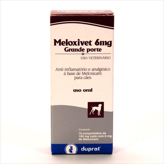 meloxivet 10 comprimidos - 6mg