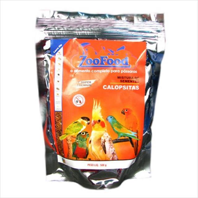 mistura de sementes para calopsitas zoofood - 500g