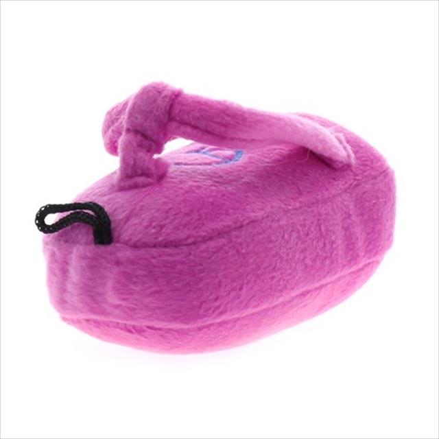 mordedor pelúcia flippie rosa - jambo