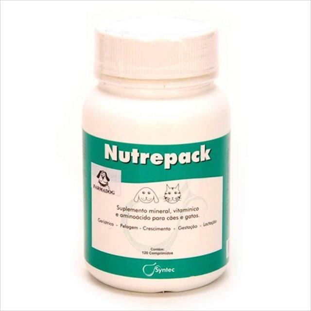 nutrepack frasco - 120 comprimidos