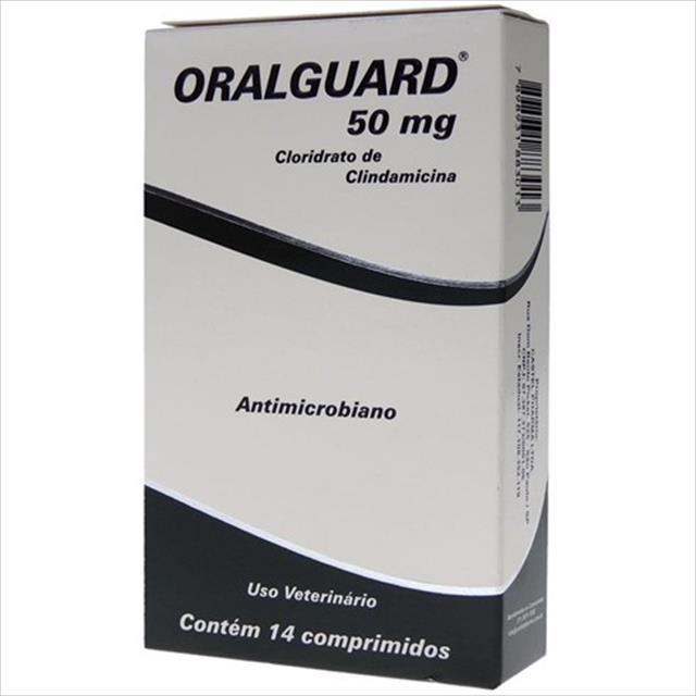 oralguard 50mg - 14 comprimidos