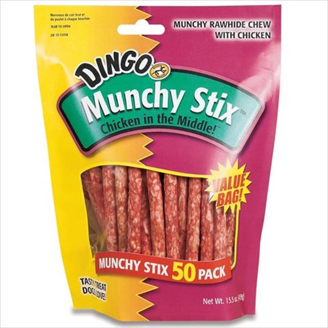 osso dingo munchy stix - 439 gr
