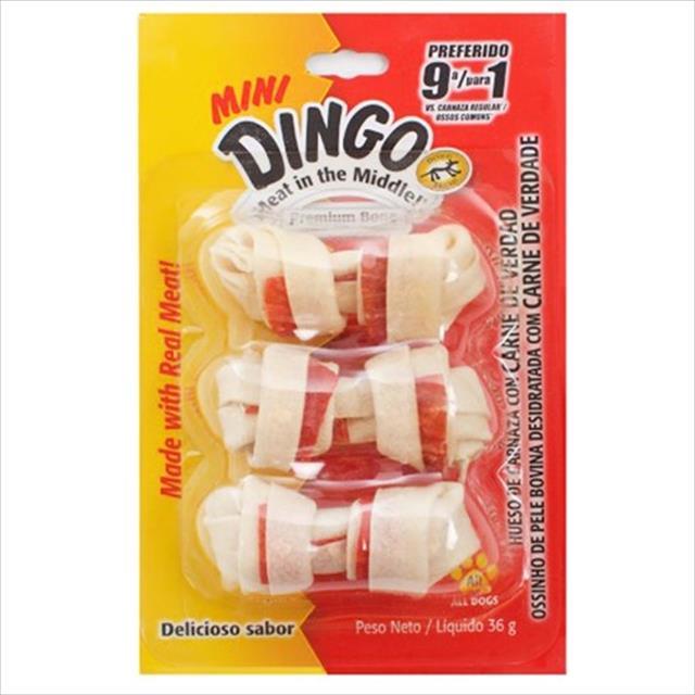 osso dingo premium mini bone- 36 gr