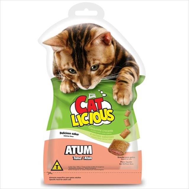 petisco total cat licious atum - 40gr