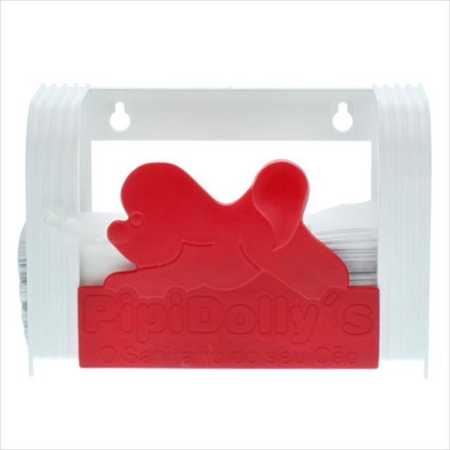 porta toalha pipidollys - vermelho