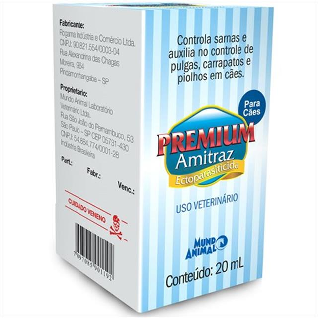 premium amitraz - 20 ml