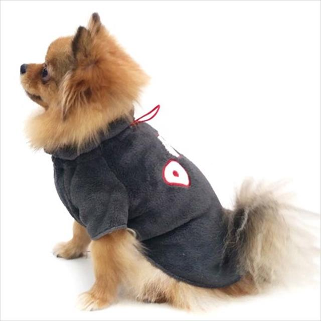 pulôver fleece dog pickorruchos - grafite pulôver fleece dog pickorruchos grafite - tam 07