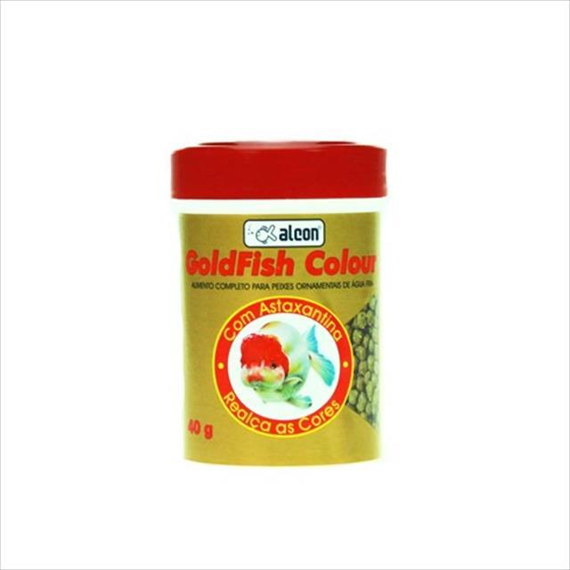 ração alcon goldfish colour - 100gr