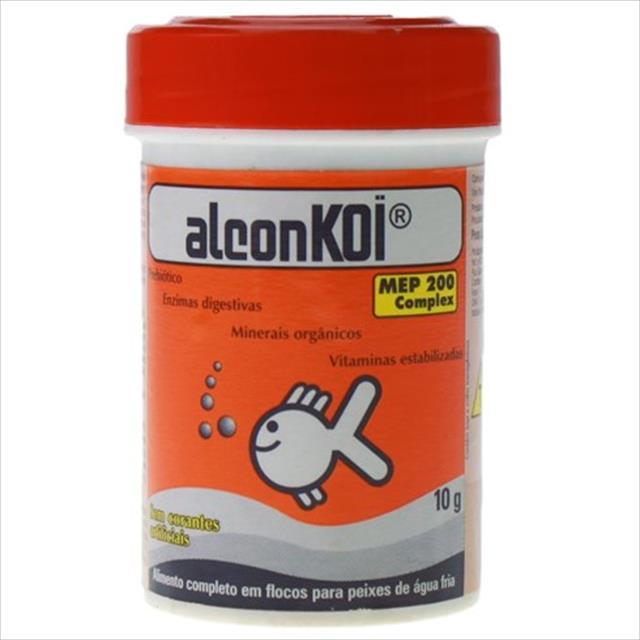 ração alcon koi goldfish - 45gr