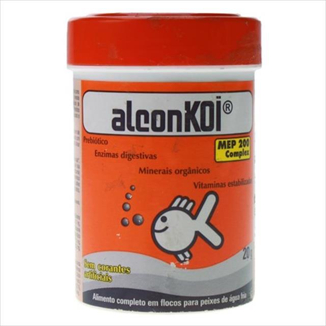 ração alcon koi goldfish - 20gr