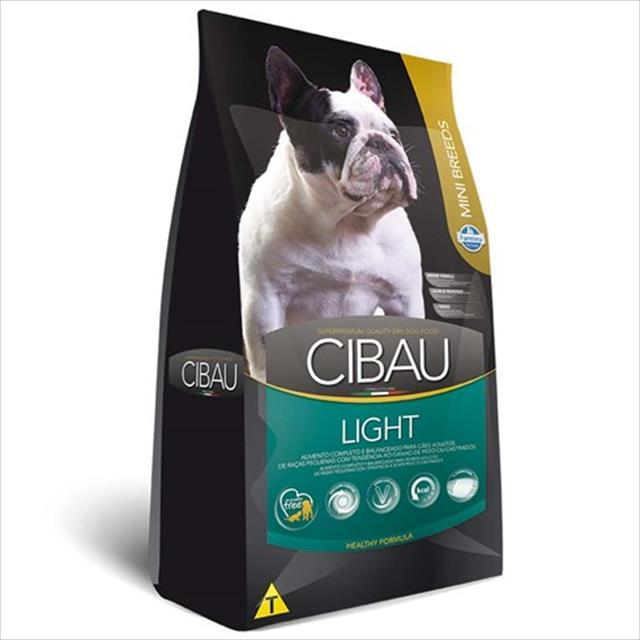 ração farmina cibau light para cães adultos com tendência a obesidade de raças pequenas - 3kg