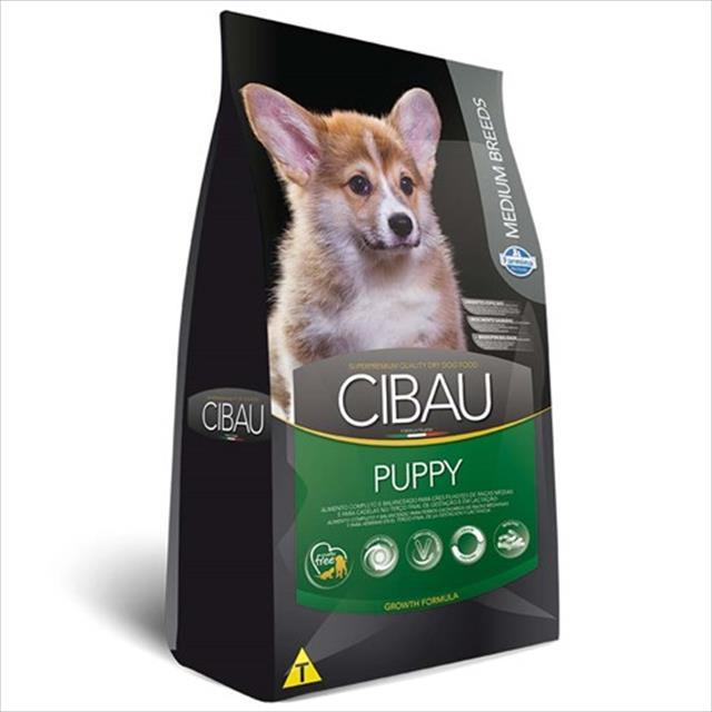 ração farmina cibau puppy para cães filhotes de raças médias - 3kg