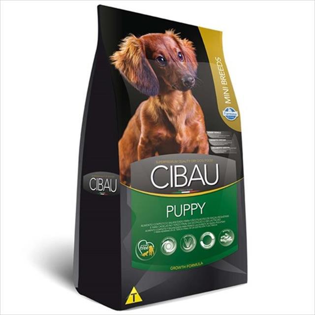 ração farmina cibau puppy para cães filhotes de raças pequenas - 1 kg