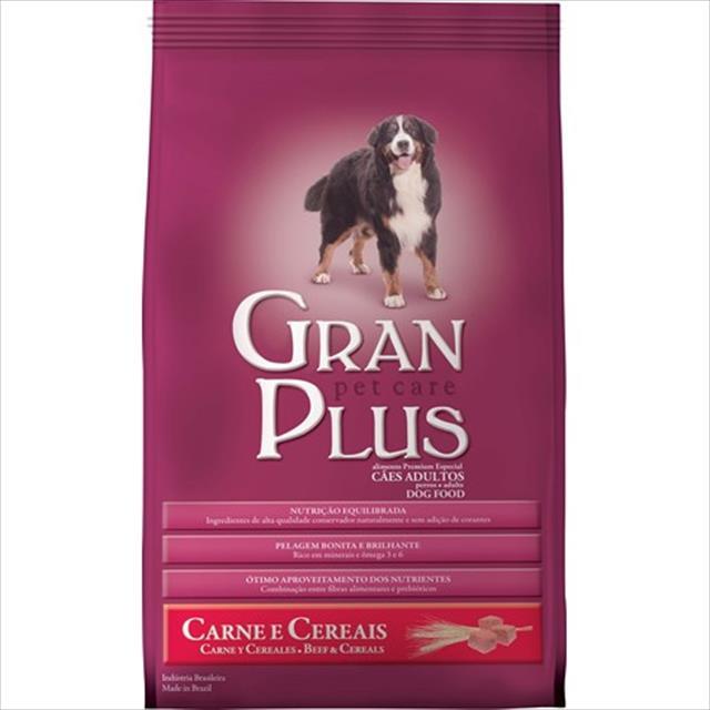 ração guabi granplus adulto carne e cereais - 2kg