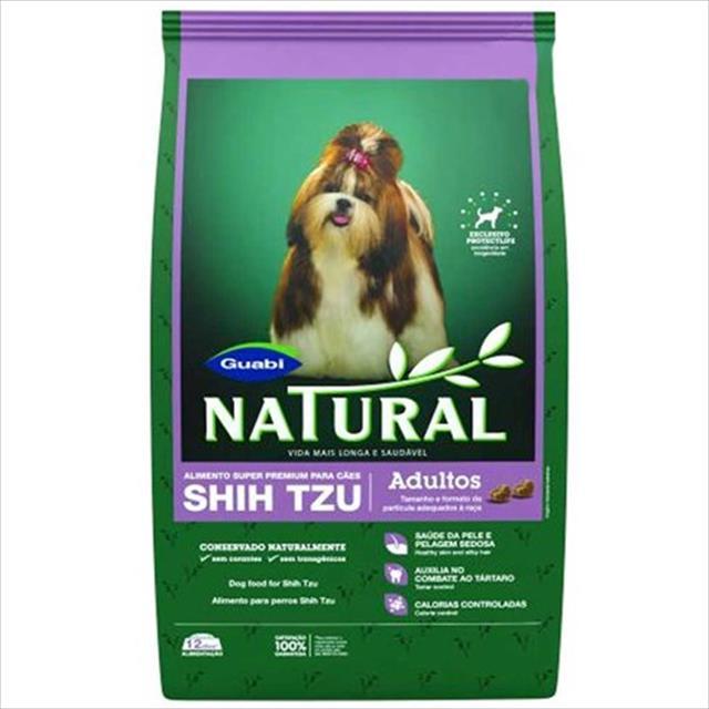 ração guabi natural cães adulto shih tzu - 1 kg