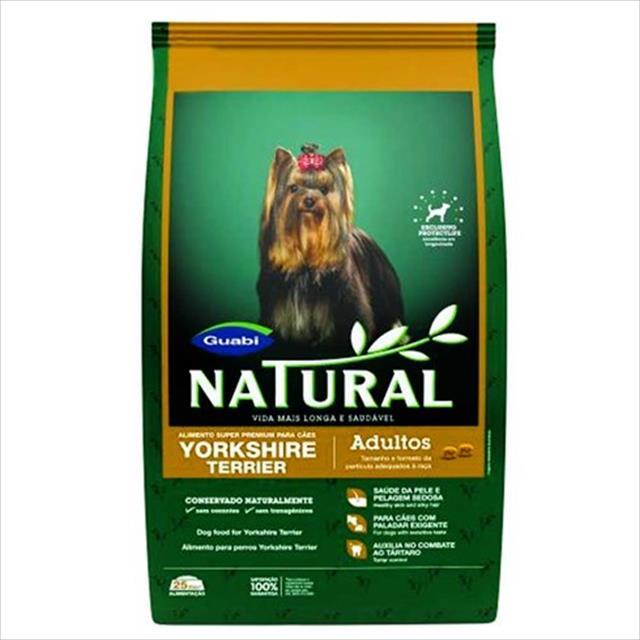ração guabi natural cães adulto yorkshire - 1 kg